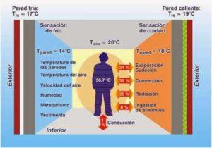 Envolupant tèrmica Temperatura superficial